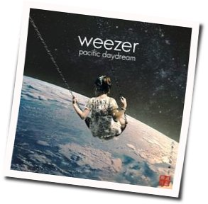 Weezer guitar chords for Any friend of Diane's