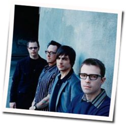 Weezer guitar chords for Byzantine