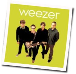 Weezer guitar chords for Christmas celebration