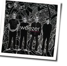 Weezer guitar chords for Friend of a friend