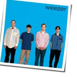Weezer guitar chords for Getchoo