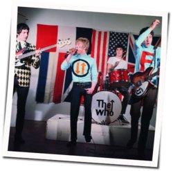 The Who guitar chords for Run run run