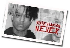 Xxxtentacion guitar tabs for Never